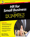 Hr For Small Business For Dummies Uk