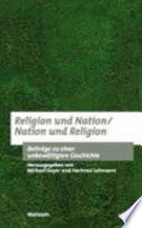 Religion und Nation, Nation und Religion
