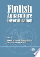 Finfish Aquaculture Diversification