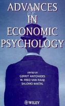 Advances in Economic Psychology Book
