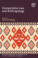 Comparative Law and Anthropology Pdf/ePub eBook