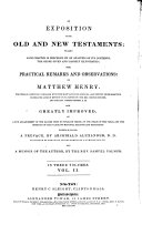 An Exposition of the Old and New Testaments