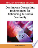 Continuous Computing Technologies For Enhancing Business Continuity Book PDF