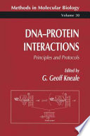 Dna Protein Interactions Book PDF