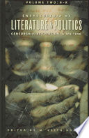 Encyclopedia Of Literature And Politics H R