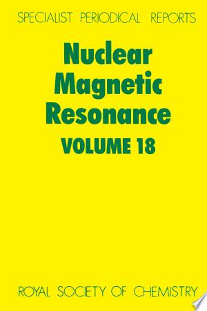 Download Nuclear Magnetic Resonance Free PDF Books - Free PDF
