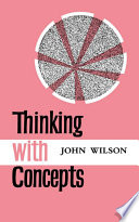 Thinking with Concepts Book PDF