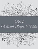 Blank Cookbook Recipes and Notes Book PDF