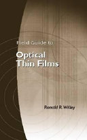 Field Guide To Optical Thin Films Book PDF