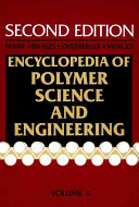 Encyclopedia of Polymer Science and Engineering  Emulsion Polymerization to Fibers  Manufacture