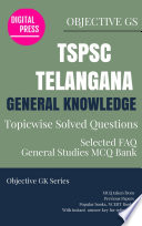 GK Topicwise Questions TSPSC TELANGANA PUBLIC SERVICE COMMISSION
