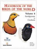 Handbook of the Birds of the World: Sandgrouse to cuckoos