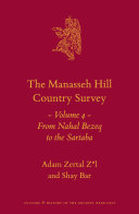 The Manasseh Hill Country Survey Volume 4