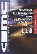 Pdf Améliorer les transports pour les personnes à mobilité réduite Guide de bonnes pratiques Telecharger