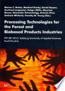 Processing Technologies for the Forest and Biobased Products Industries