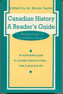 Canadian History  Beginnings to Confederation