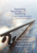 Assessing Teaching and Learning in Psychology  Current and Future Perspectives