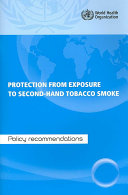 Protection from Exposure to Second hand Tobacco Smoke