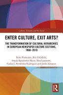 Pdf Enter Culture, Exit Arts?
