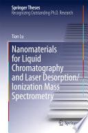 Nanomaterials for Liquid Chromatography and Laser Desorption Ionization Mass Spectrometry