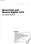 Minorities and Human Rights Law