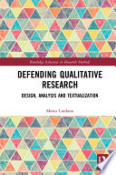 Defending Qualitative Research