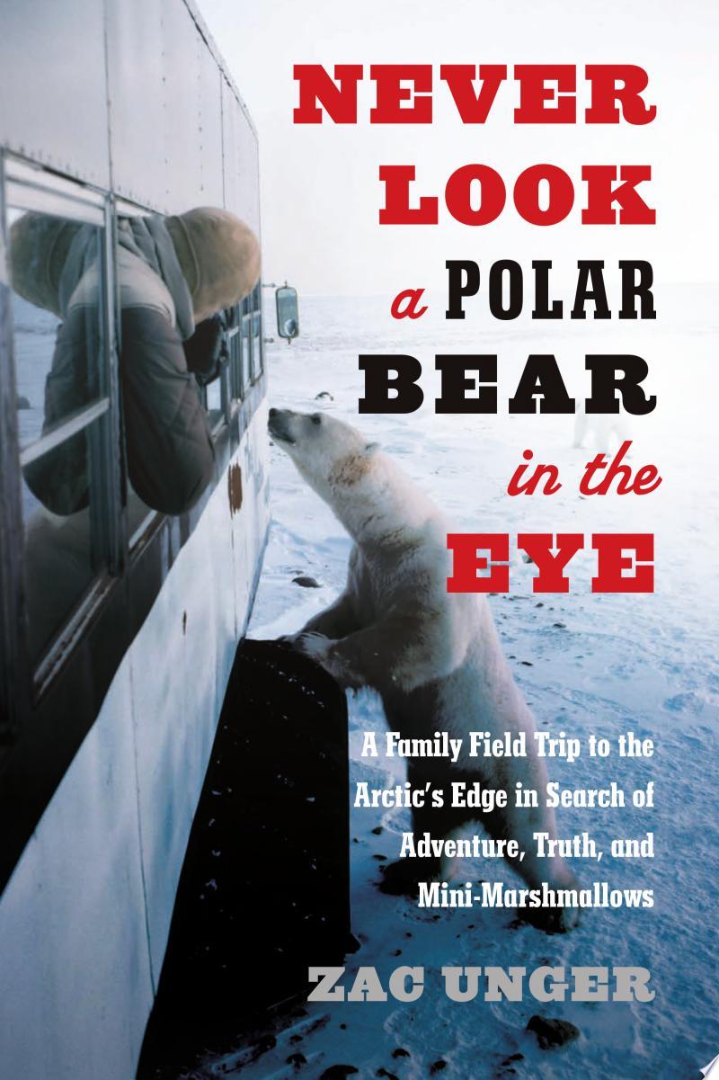 Never Look a Polar Bear in the Eye banner backdrop