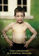 Pdf O Me of Little Faith
