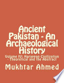 Ancient Pakistan   An Archaeological History