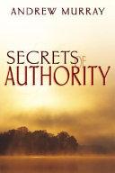 Secrets of Authority Book