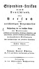 Stipendien-Lexikon von und für Deutschland