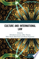 Culture And International Law