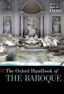 Pdf The Oxford Handbook of the Baroque Telecharger