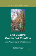 Pdf The Cultural Context of Emotion Telecharger