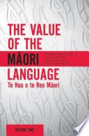 The Value of the Maori Language