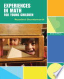 Experiences In Math For Young Children Book
