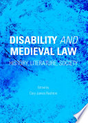 Disability And Medieval Law