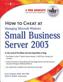 How to Cheat at Managing Windows Small Business Server 2003 Book