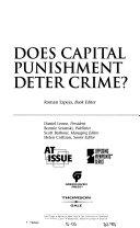 Does Capital Punishment Deter Crime