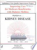 Improving Care for Medicare Beneficiaries with Diabetes Mellitus