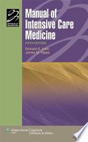 Manual Of Intensive Care Medicine Book PDF