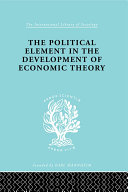 The Political Element in the Development of Economic Theory [Pdf/ePub] eBook