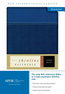 Thinline Reference Large Print Bible