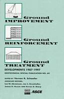 Ground Improvement, Ground Reinforcement, Ground Treatment