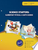 Science Starters Elementary Physical Earth Sciences Parent Lesson Plan