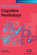 Pdf Test Yourself: Cognitive Psychology Telecharger