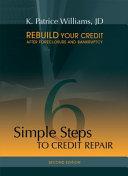 6 Simple Steps to Credit Repair