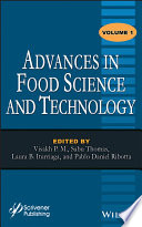 Advances in Food Science and Technology Book