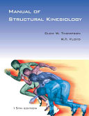 Cover of Manual of Structural Kinesiology