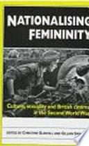 Nationalising Femininity Book